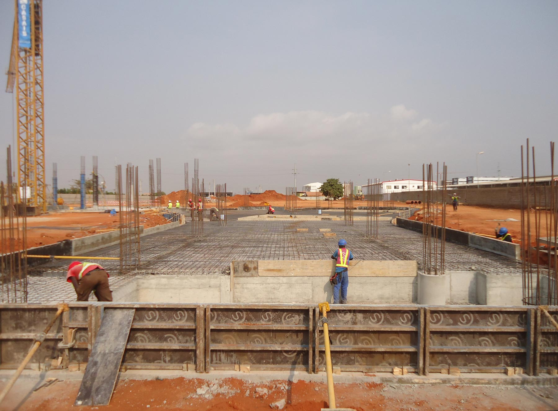 Construction Underway  for Luanda International School Early Childhood Campus