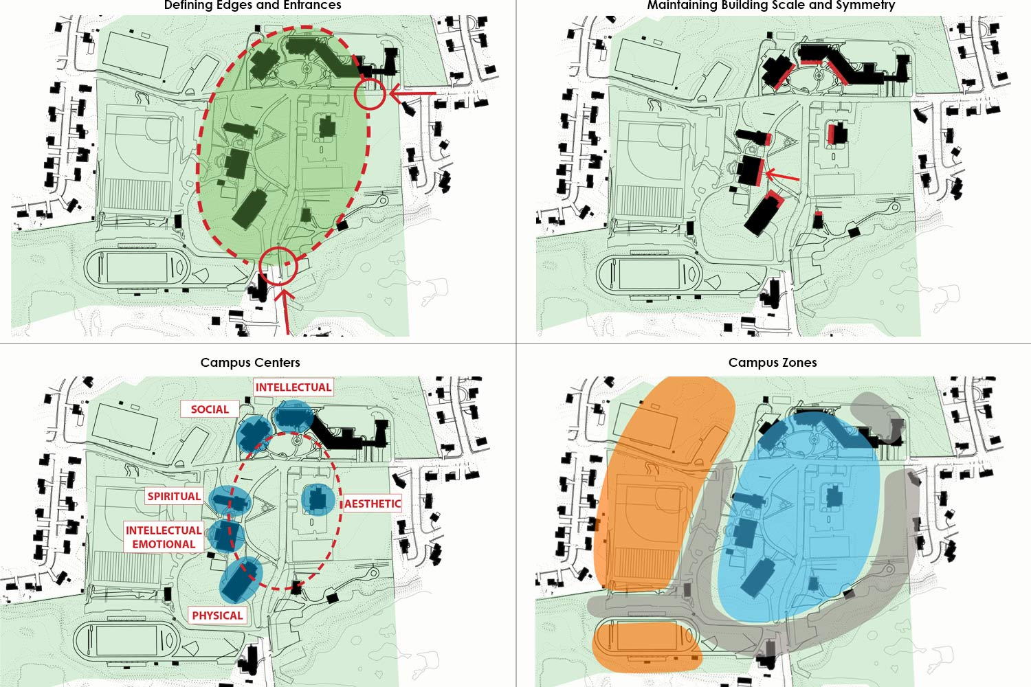St Johns Campus Map.St John S Preparatory School Master Plan Flansburgh Architects
