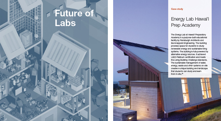 Hawaii Preparatory Academy Energy Lab Featured In Future Of Labs Flansburgh Architects